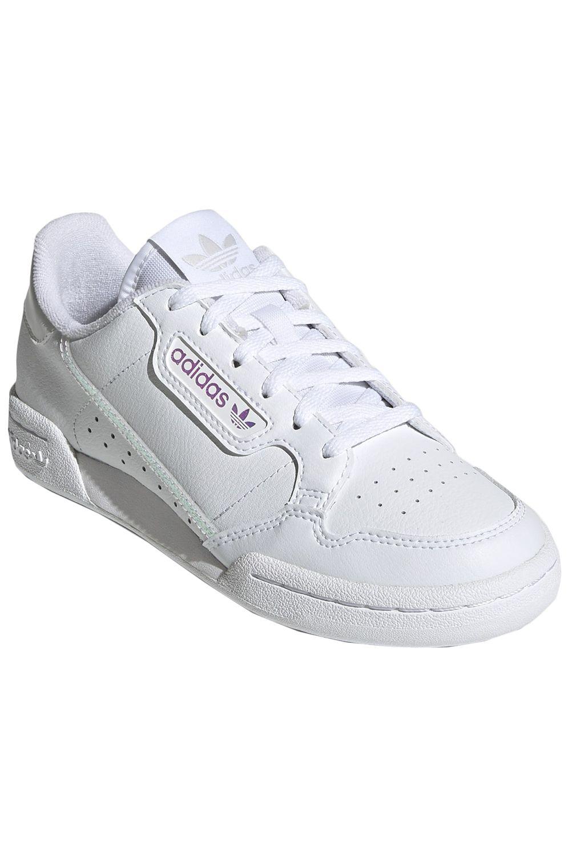 Tenis Adidas CONTINENTAL 80 J Ftwr White/Ftwr White/Core Black