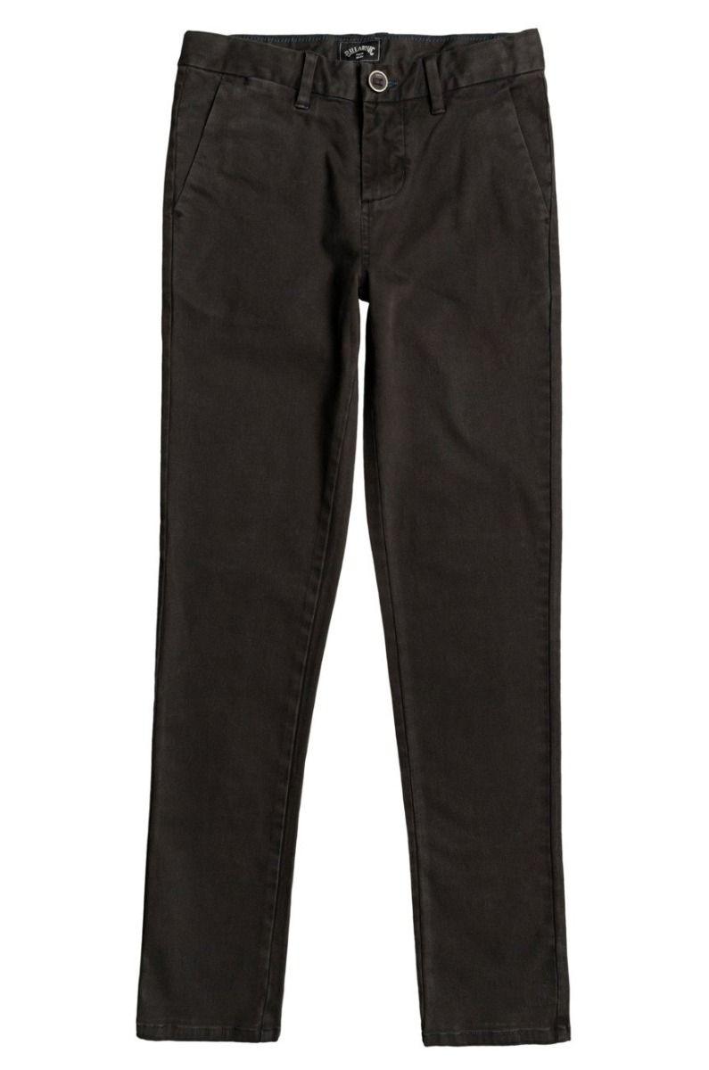Billabong Pants 73 CHINO BOY Black