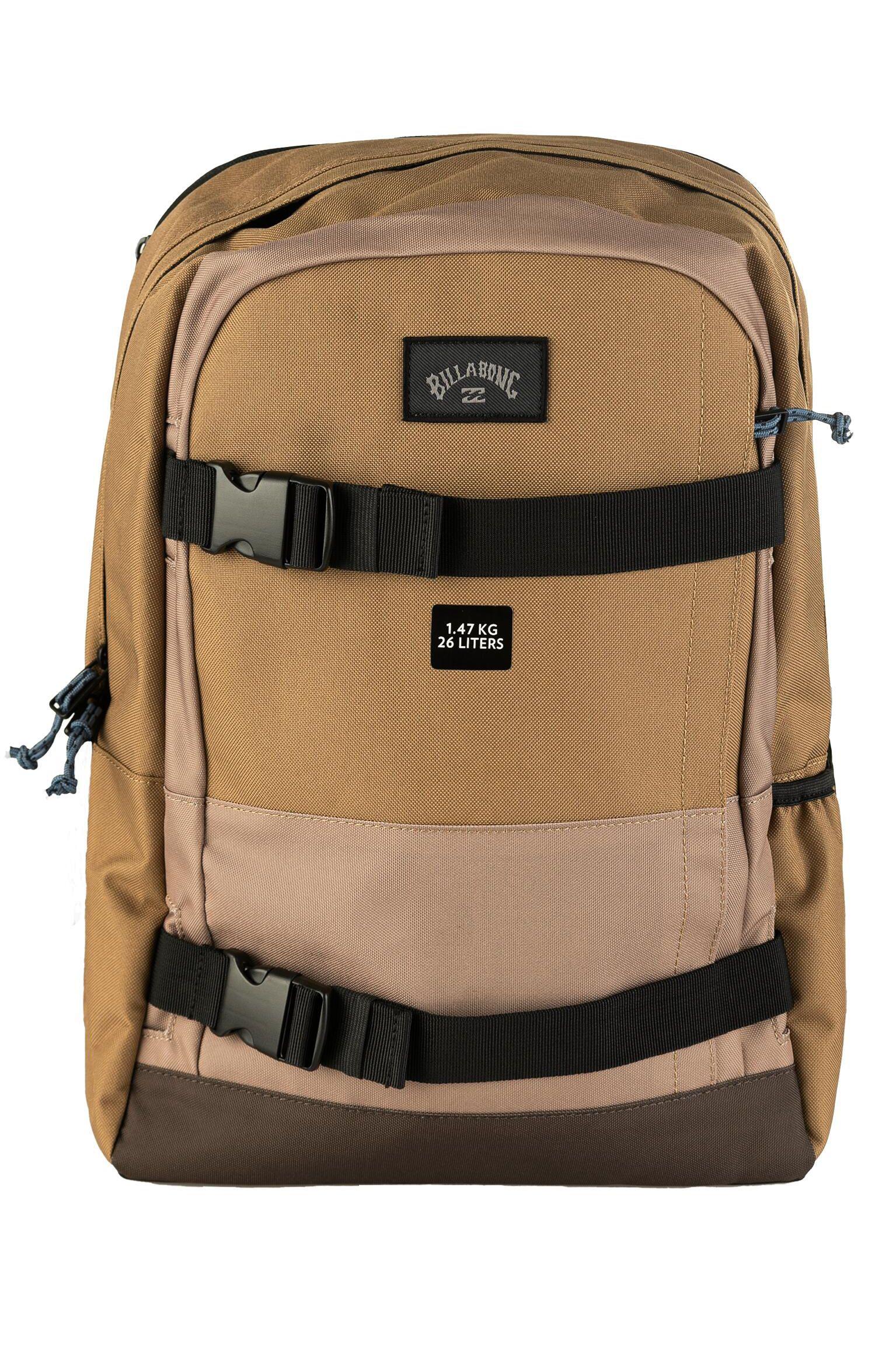 Billabong Backpack COMMAND SKATE Clay