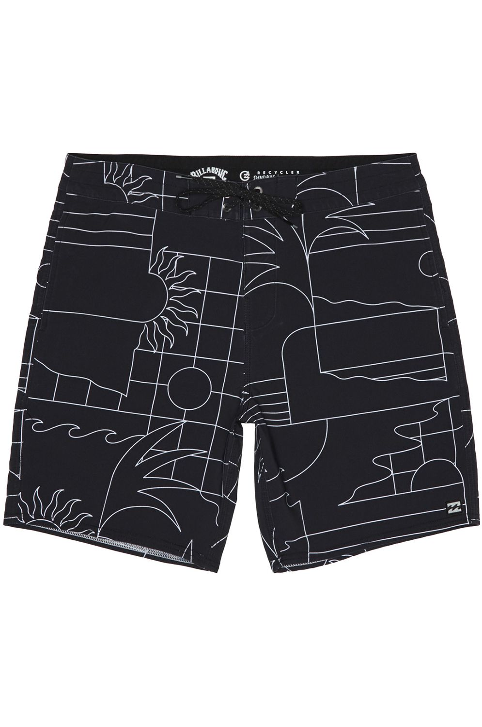 Boardshorts Billabong SUNDAYS LT Black