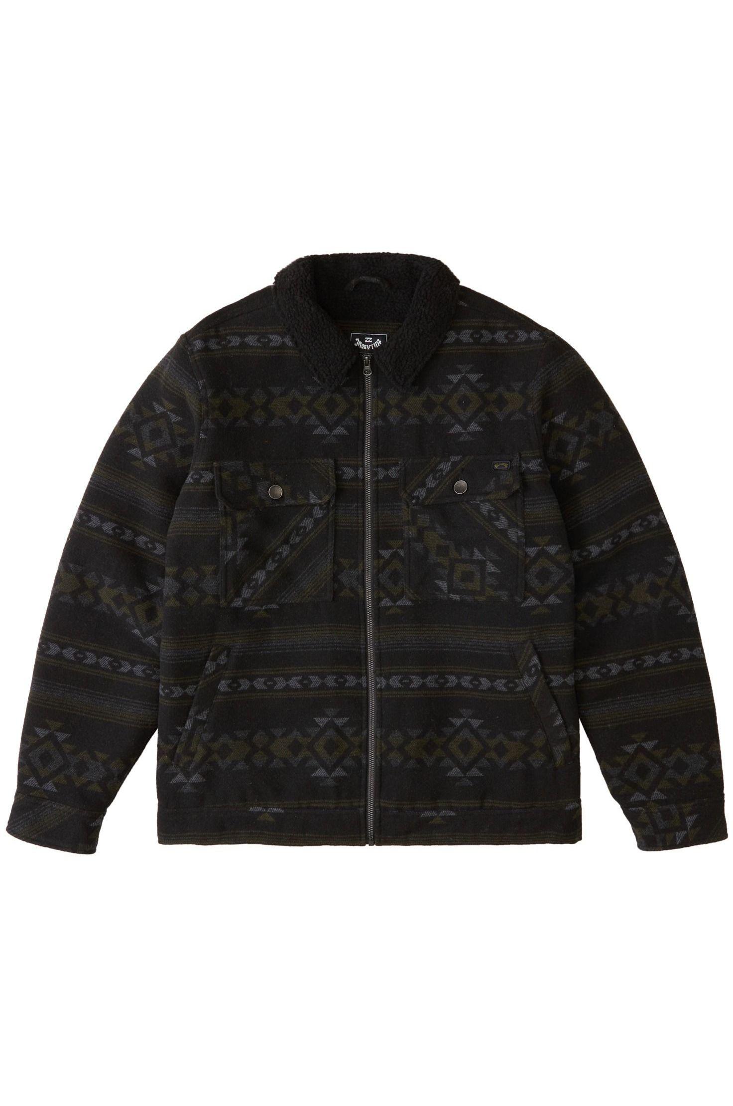 Billabong Jacket BARLOW SHERPA Black