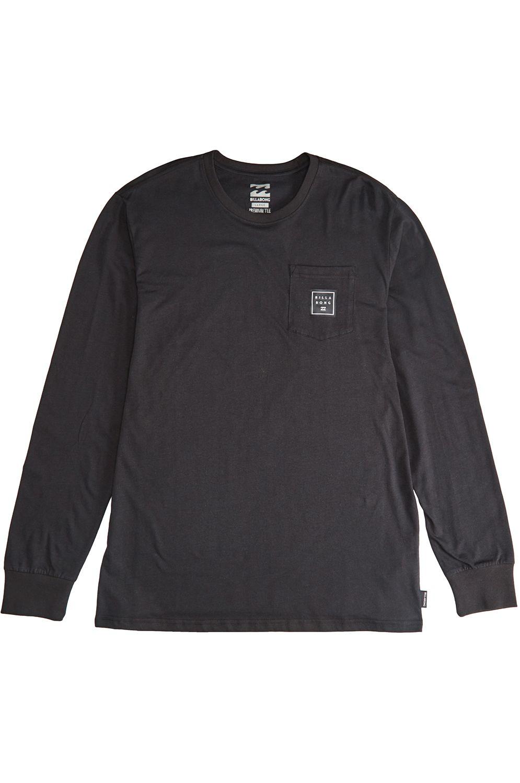 Billabong L-Sleeve STACKED Black