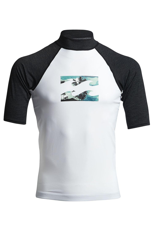 Billabong Neoprene Lycra TEAM WAVE SS White