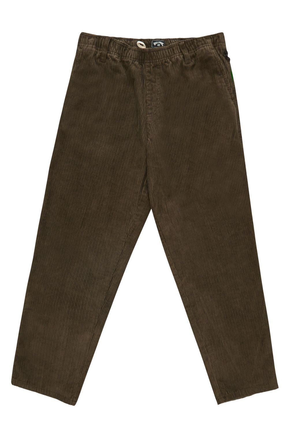 Billabong Pants BOWIE LAYBACK PANT WRANGLER. Coffee
