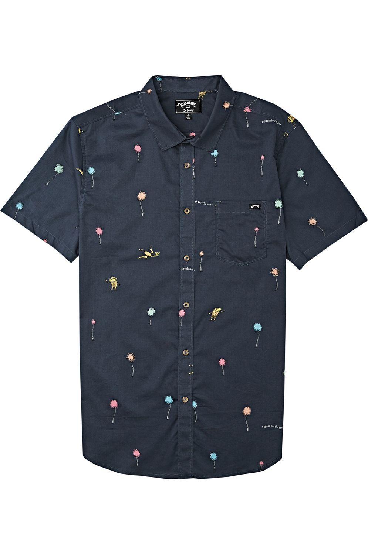 Billabong Shirt TRUFFULA SS DR SEUSS Charcoal