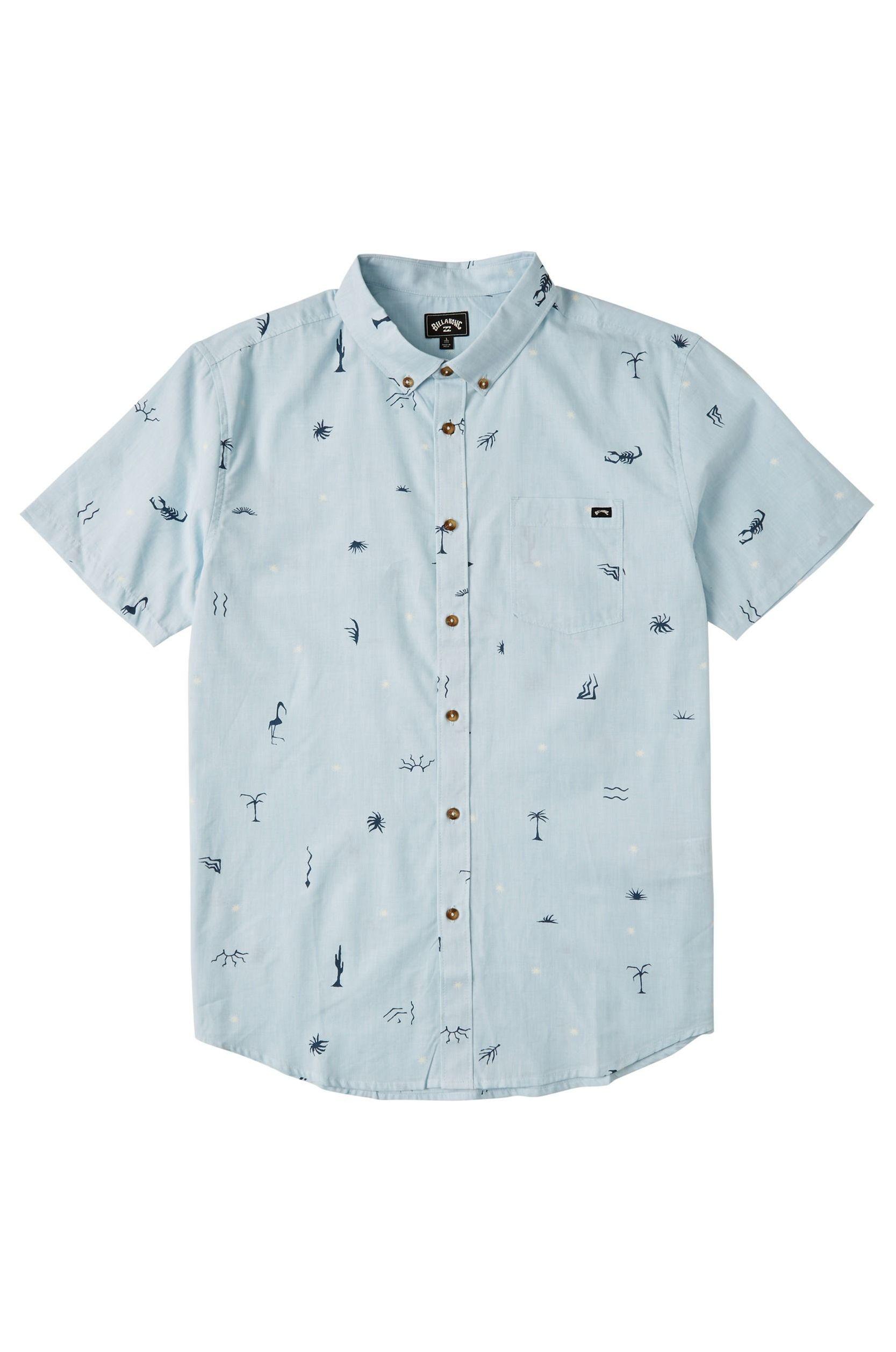 Billabong Shirt SUNDAYS MINI SS Sky Blue