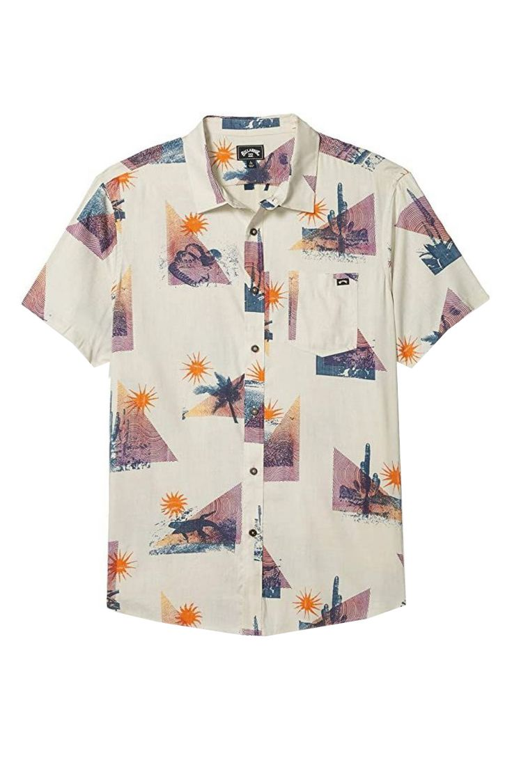 Billabong Shirt VACAY SS Stone