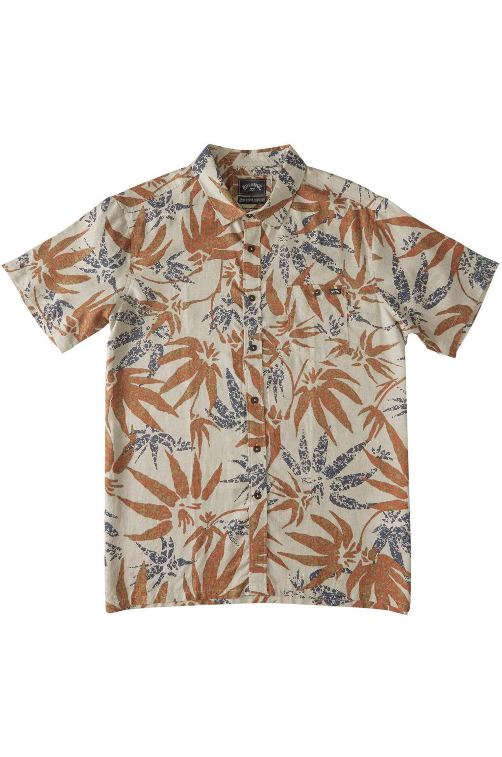 Billabong Shirt KERN HEMP SS ADVENTURE DIVISION Chino