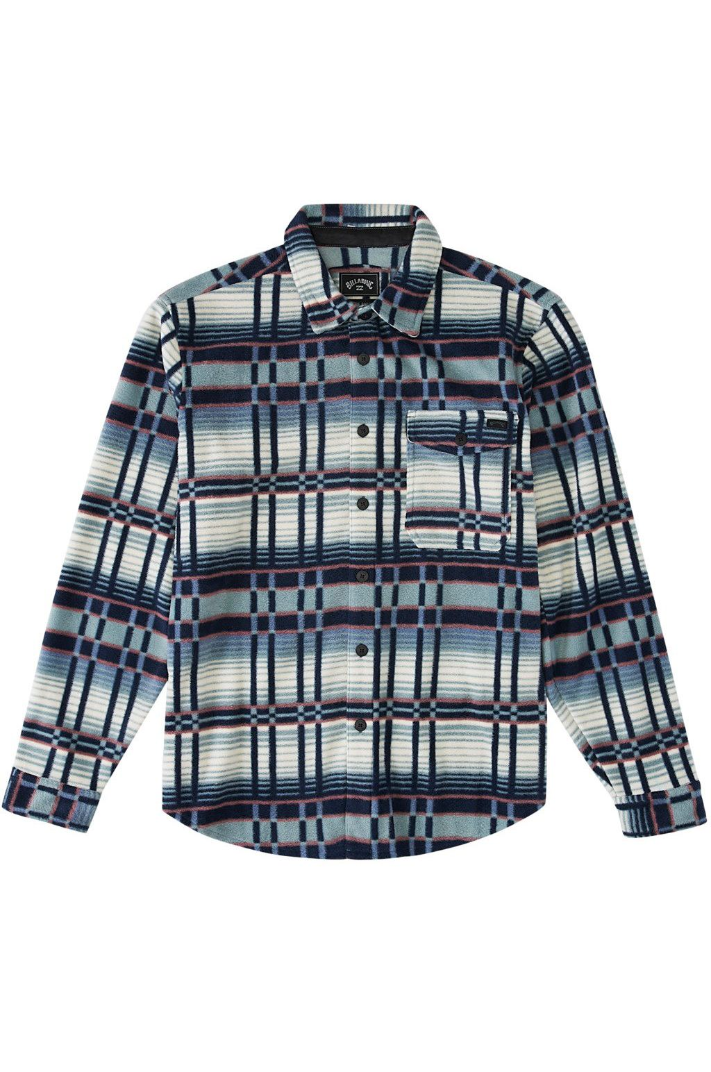 Billabong Shirt FURNACE FLANNEL ADVENTURE DIVISION Agave