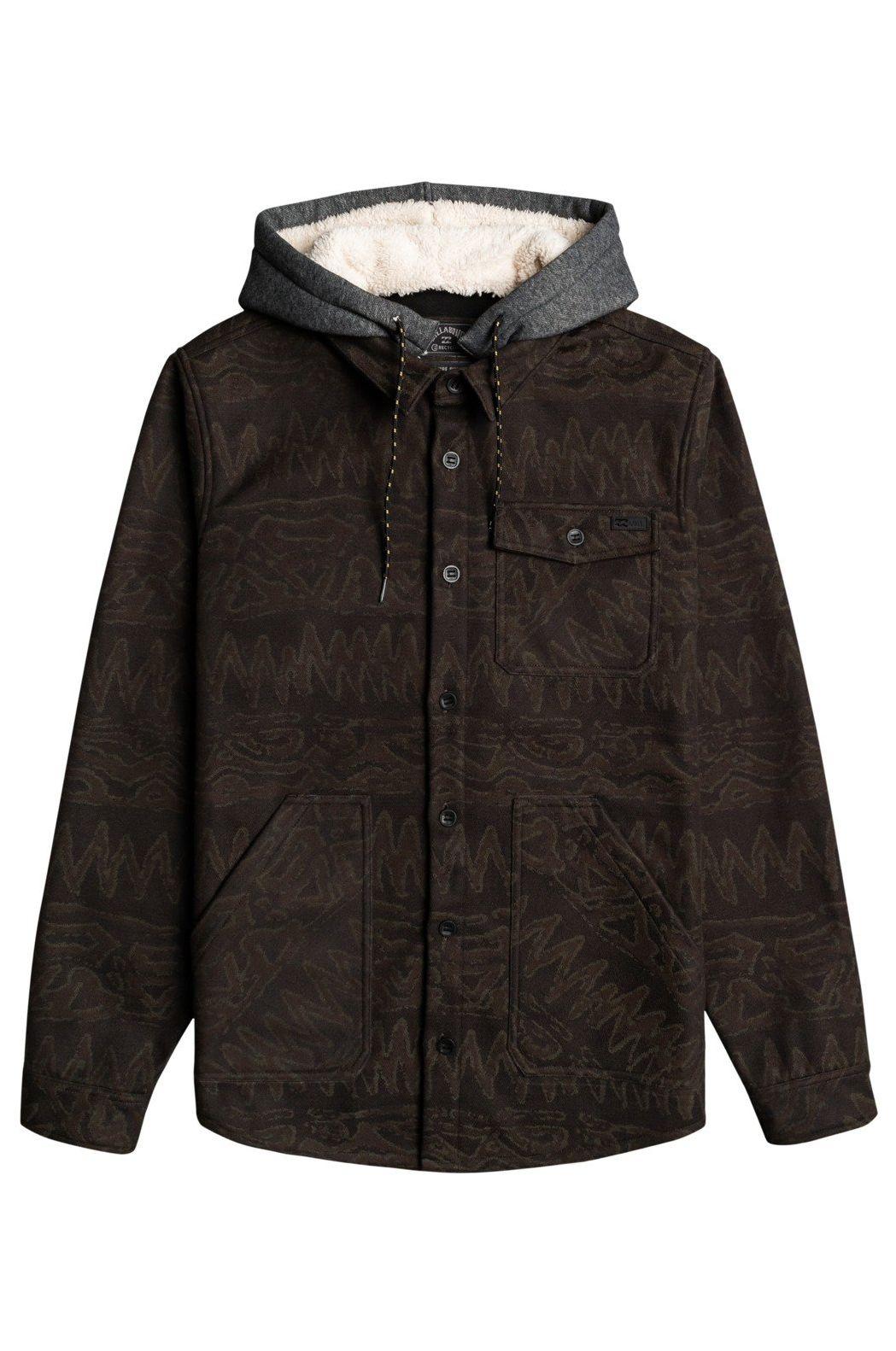 Camisa Billabong FURNACE BONDED FLANN ADVENTURE DIVISION Black