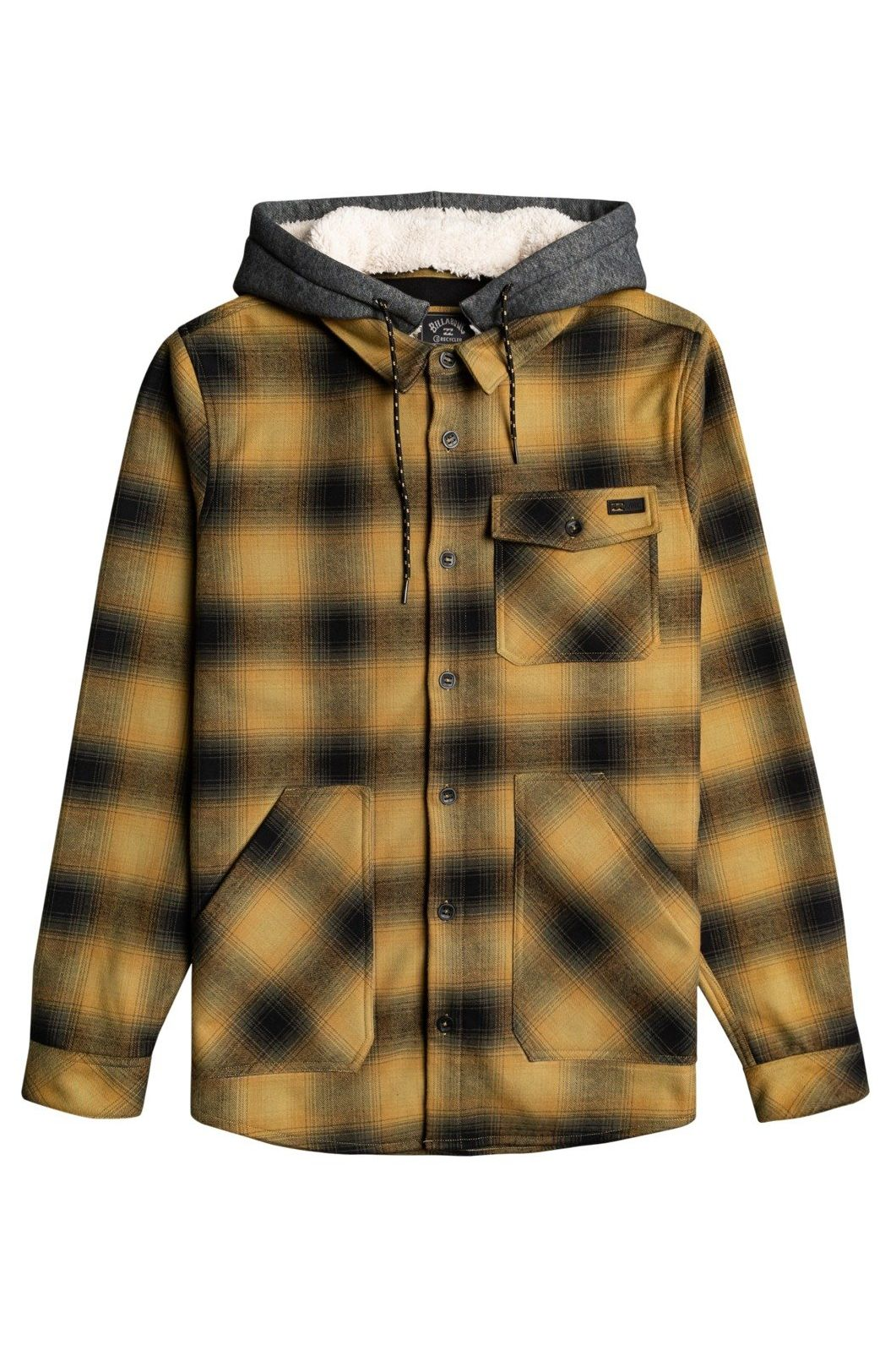 Camisa Billabong FURNACE BONDED FLANN ADVENTURE DIVISION Dark Olive