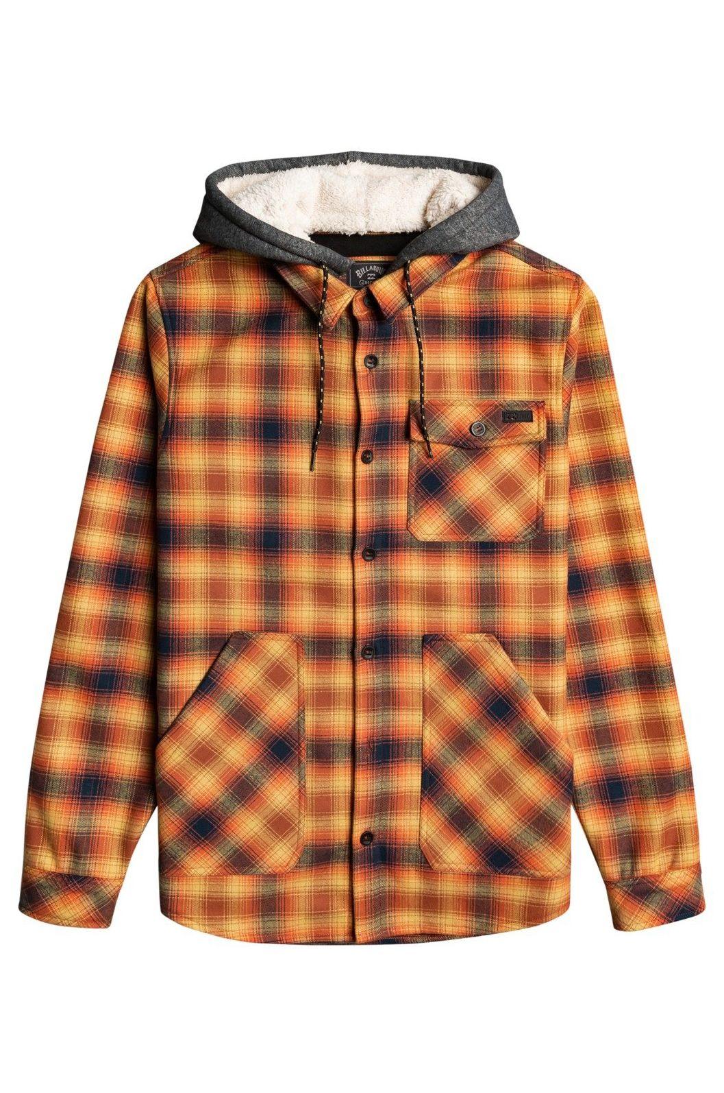 Camisa Billabong FURNACE BONDED FLANN ADVENTURE DIVISION Rust