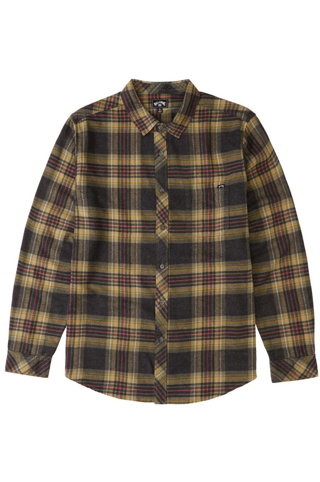 Billabong Shirt COASTLINE FLANNEL Black