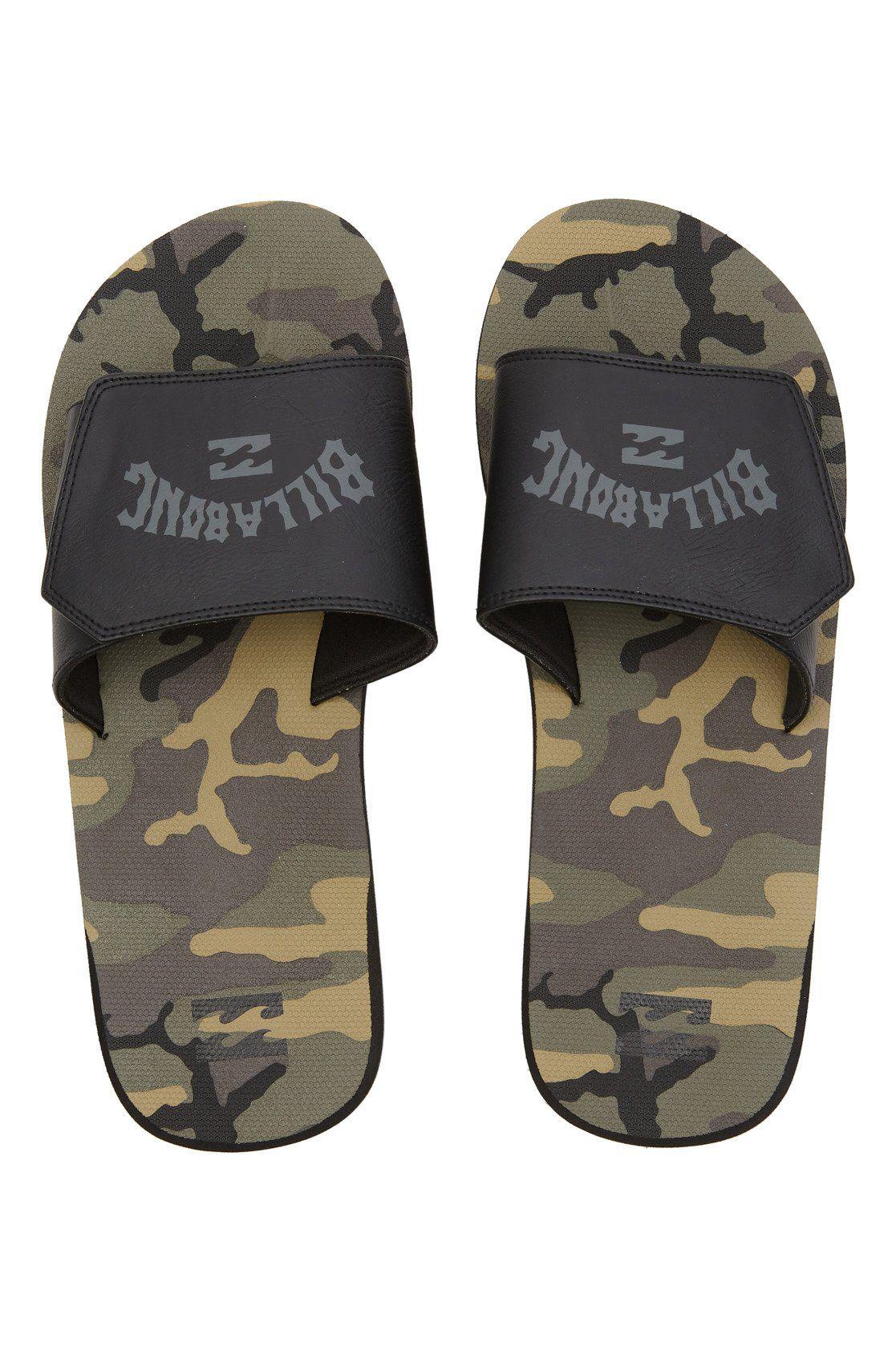 Billabong Sandals ALL DAY IMPACT SLIDE Camo