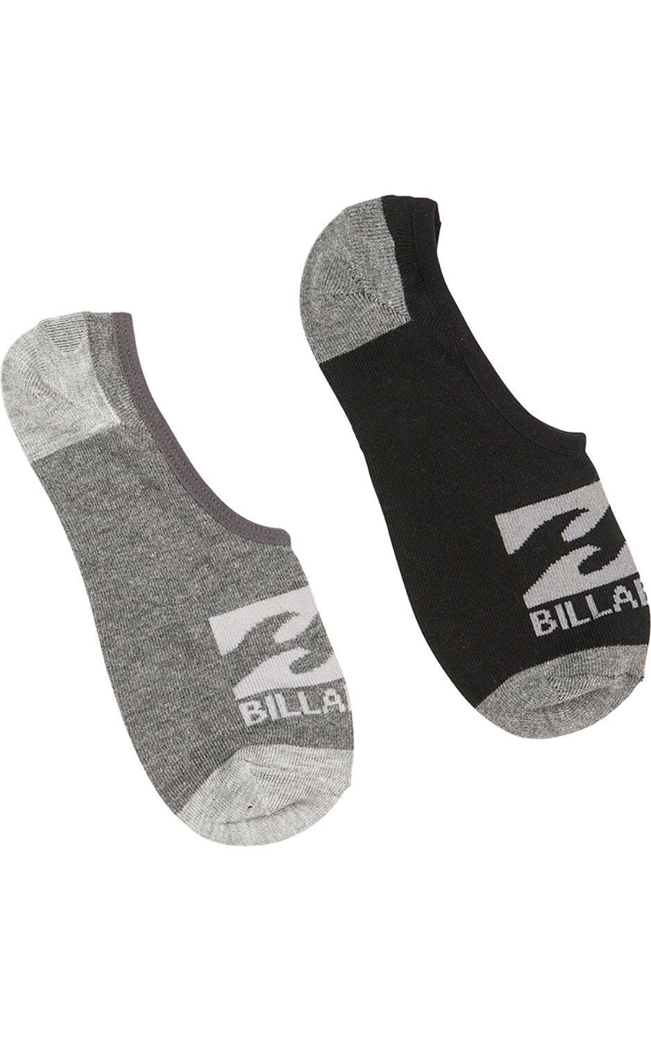 Meias Billabong INVISIBLE 2 PACK Assorted