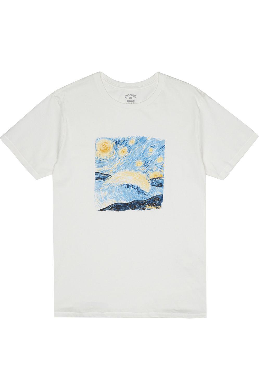 T-Shirt Billabong NIGHT SESSION Snow