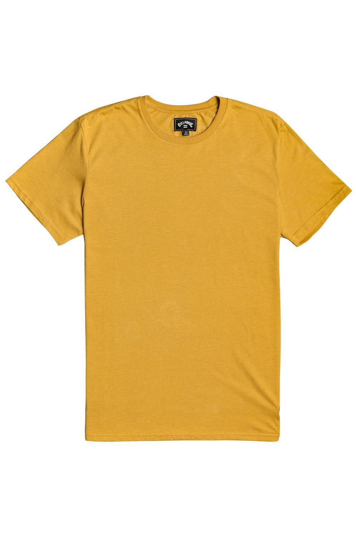 Billabong T-Shirt ALL DAY CREW SS Mustard