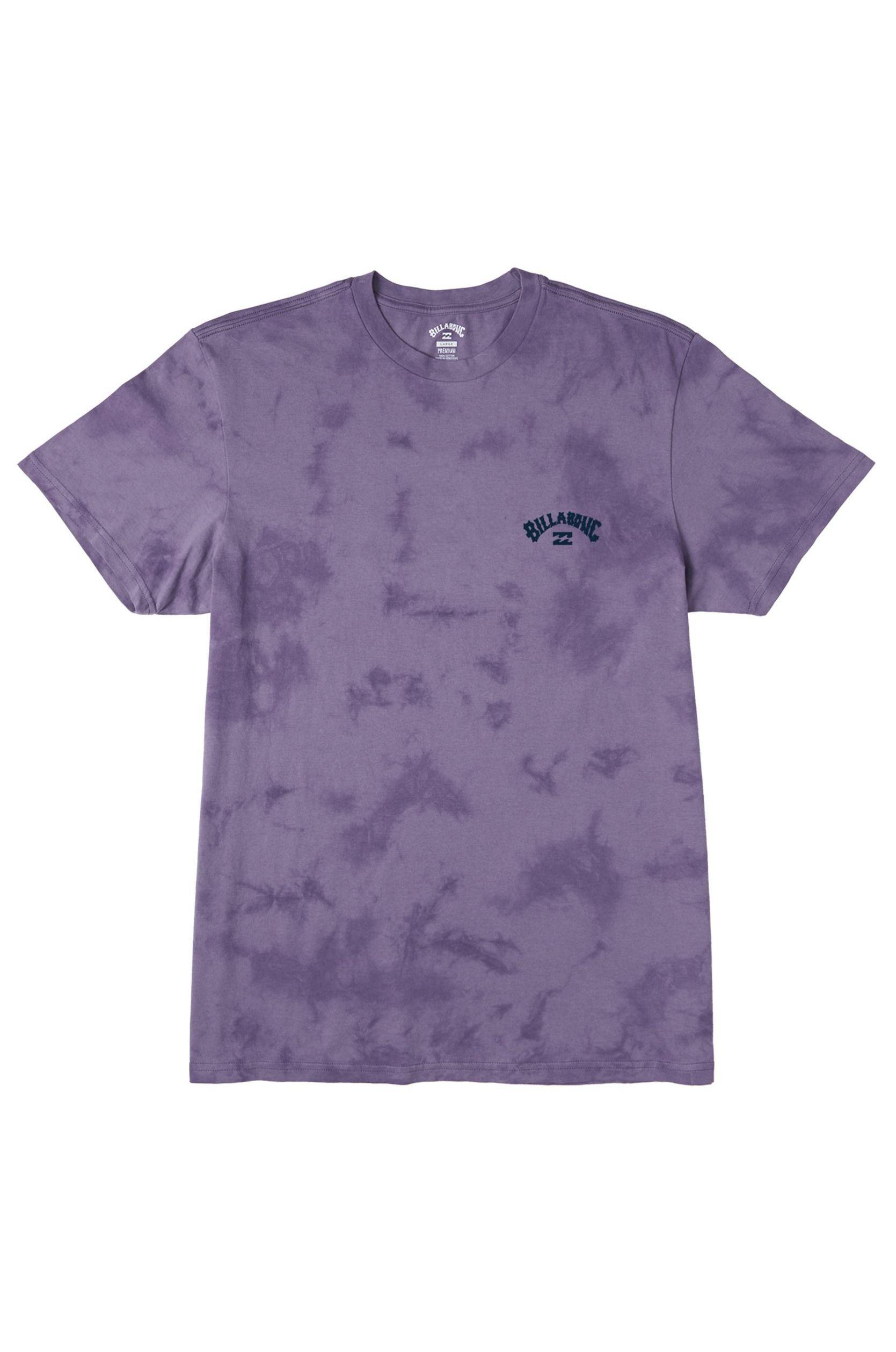 T-Shirt Billabong ARCH WAVE TIE DYE Purple Haze