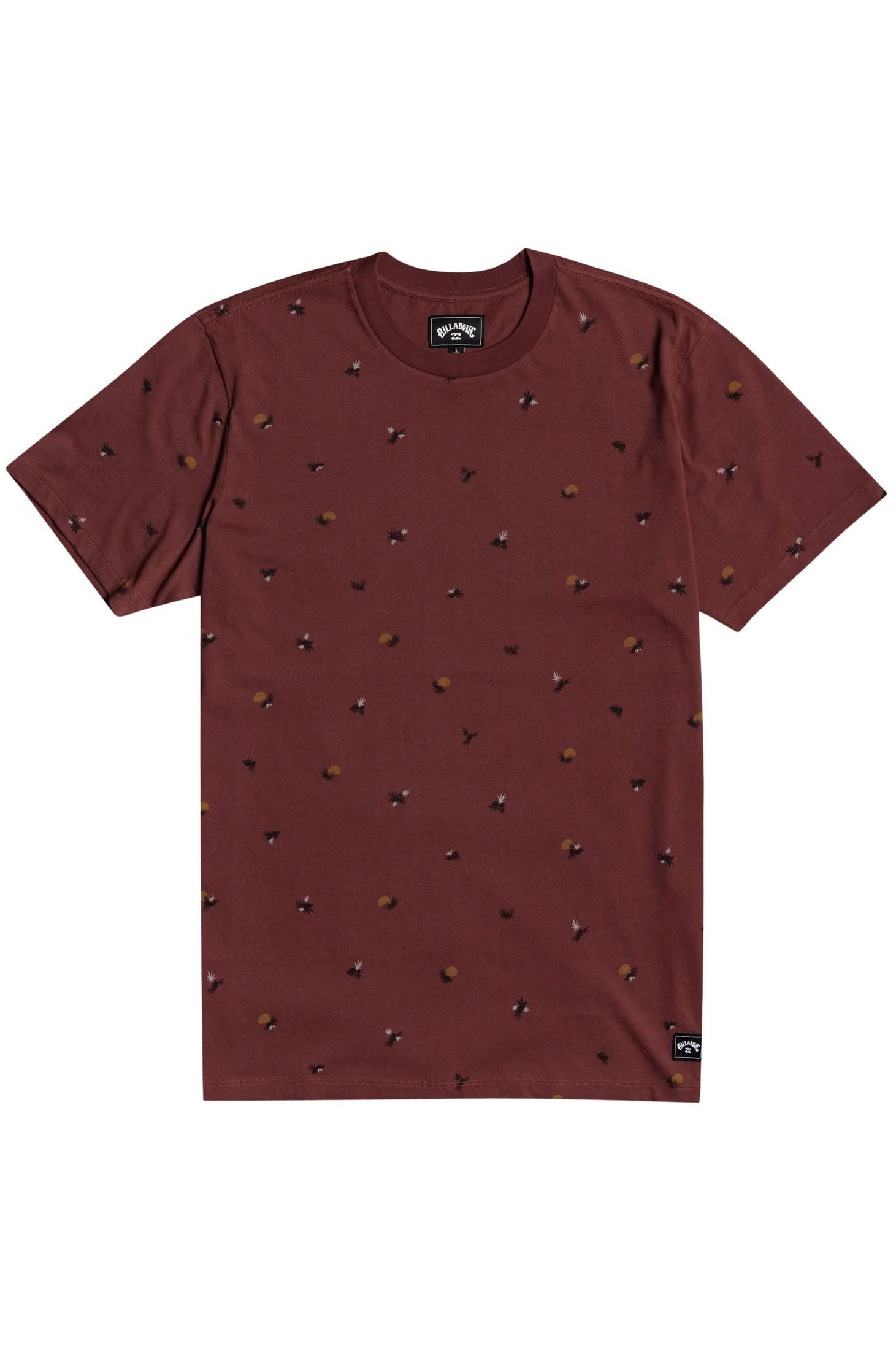 Billabong T-Shirt SUNDAYS SS Oxblood