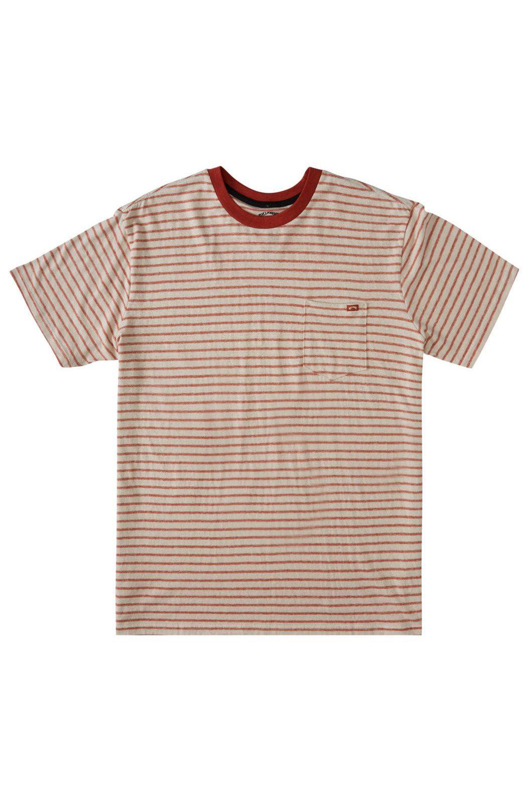Billabong T-Shirt ELDORADO HEMP STRIPE ADVENTURE DIVISION Auburn