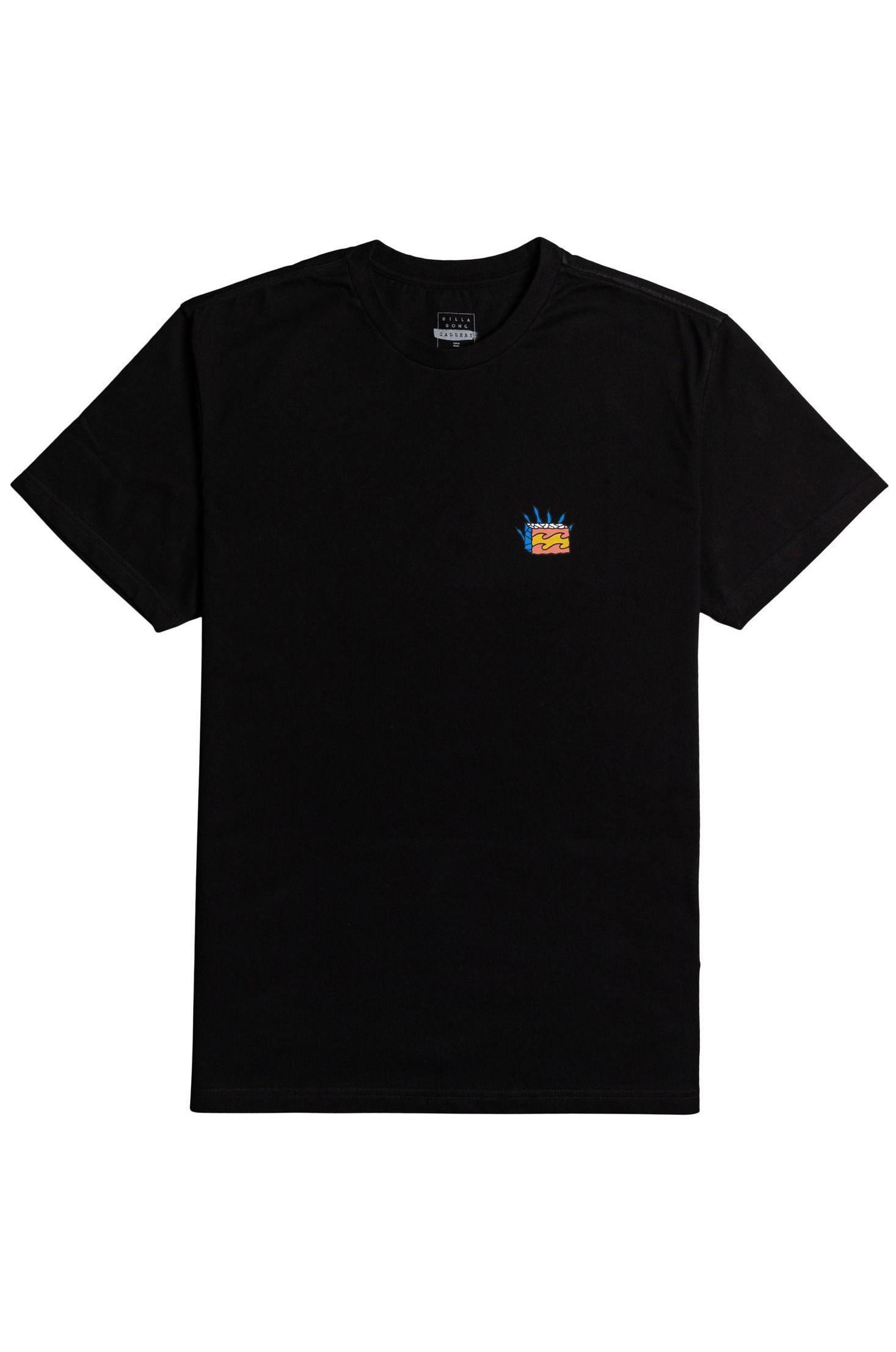 Billabong T-Shirt STAIRWAY SS GALLERY Black