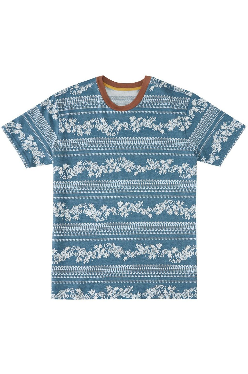 Billabong T-Shirt WRANGLER CREW WRANGLER. Emerald