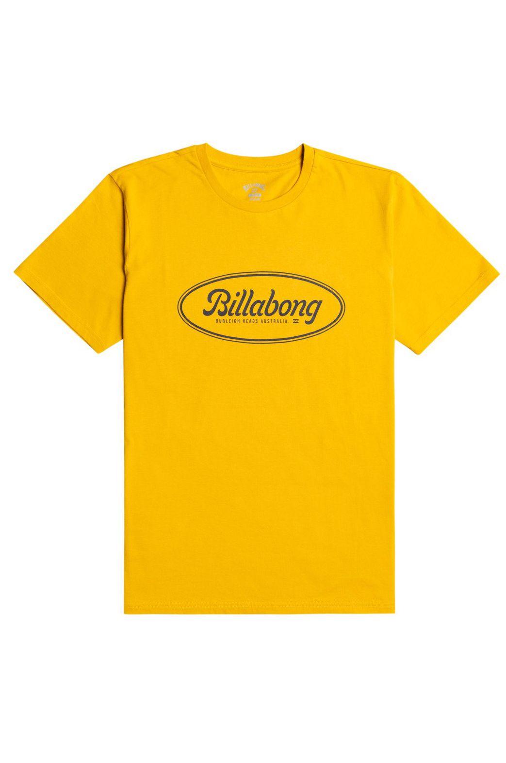 Billabong T-Shirt STATE BEACH SS Mustard