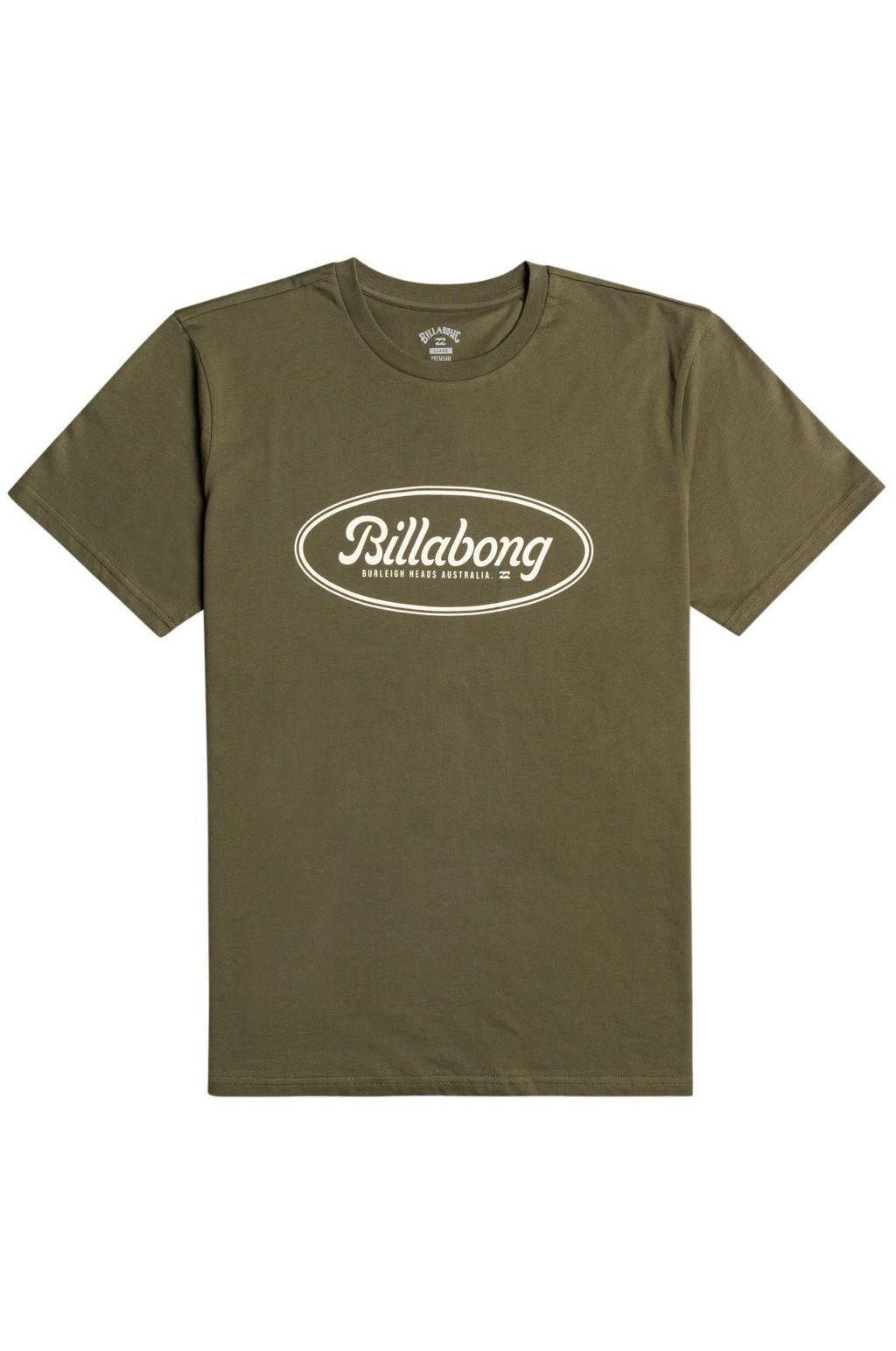 Billabong T-Shirt STATE BEACH SS Military
