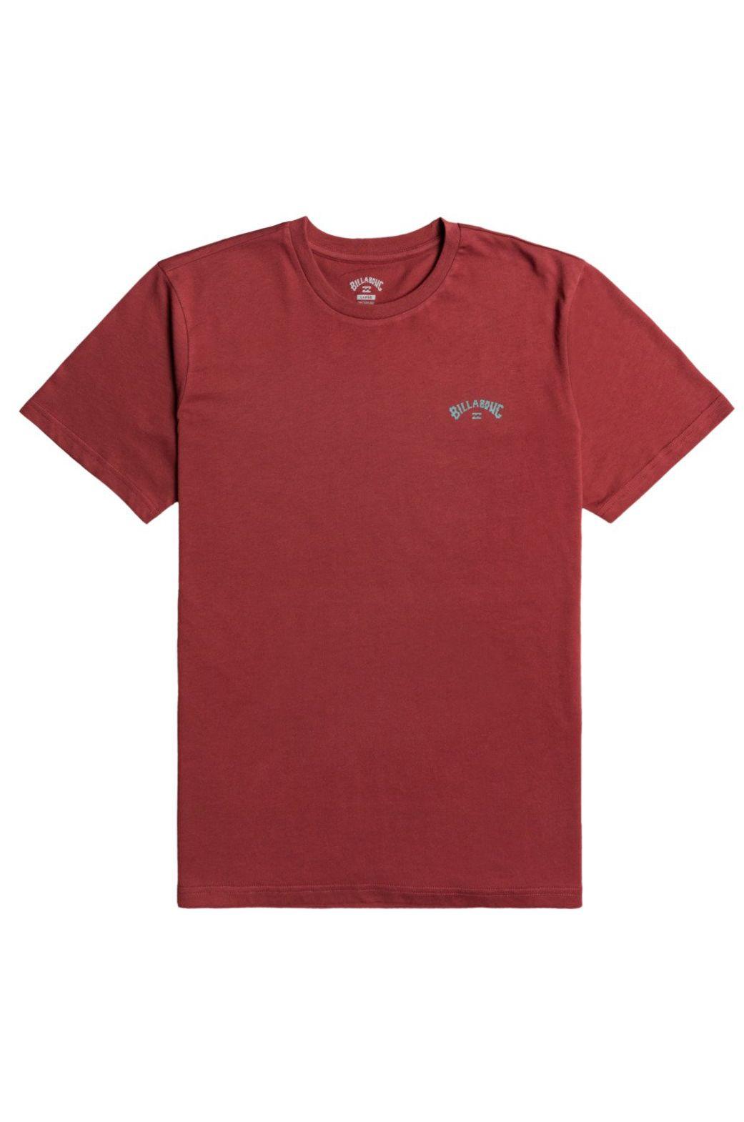 Billabong T-Shirt ARCH WAVE SS Oxblood