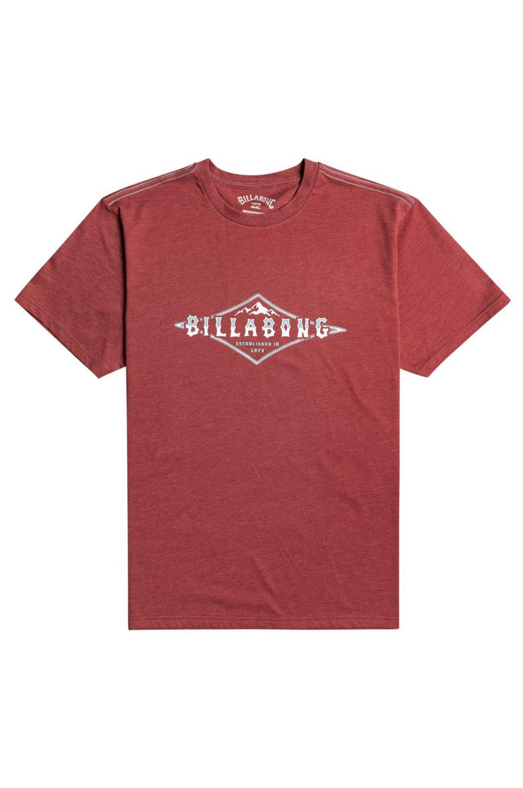 Billabong T-Shirt ARCH PEAK SS Oxblood