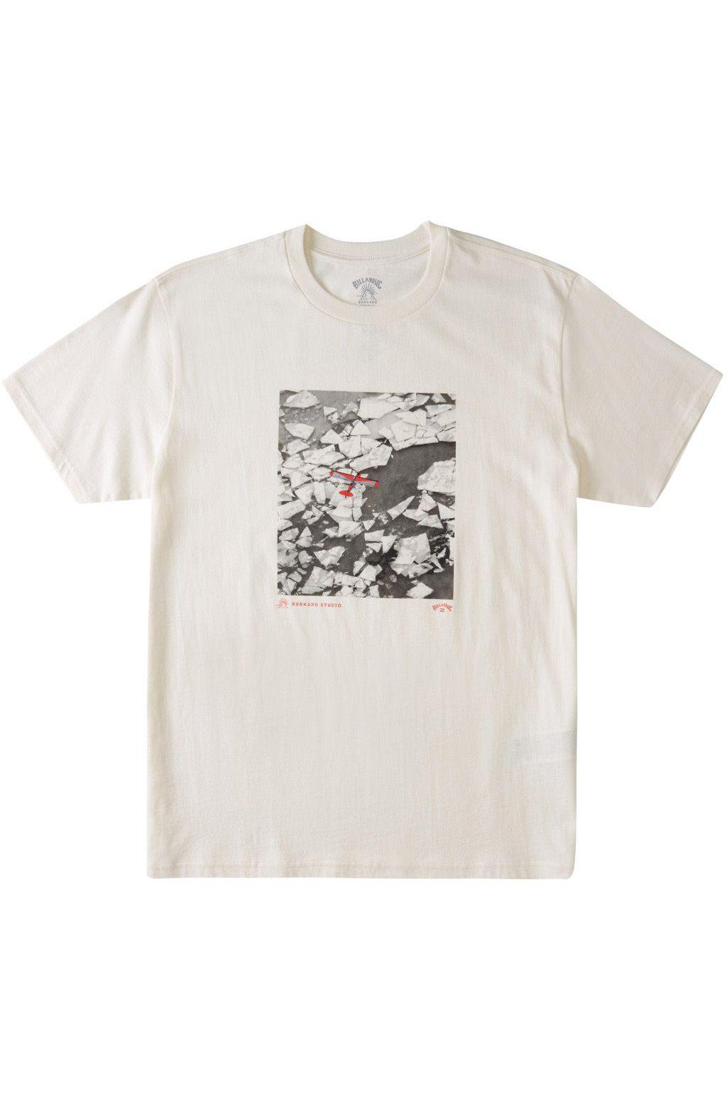 T-Shirt Billabong ICEBURG AERIAL SS ADIV / CHRIS BURKARD Snow