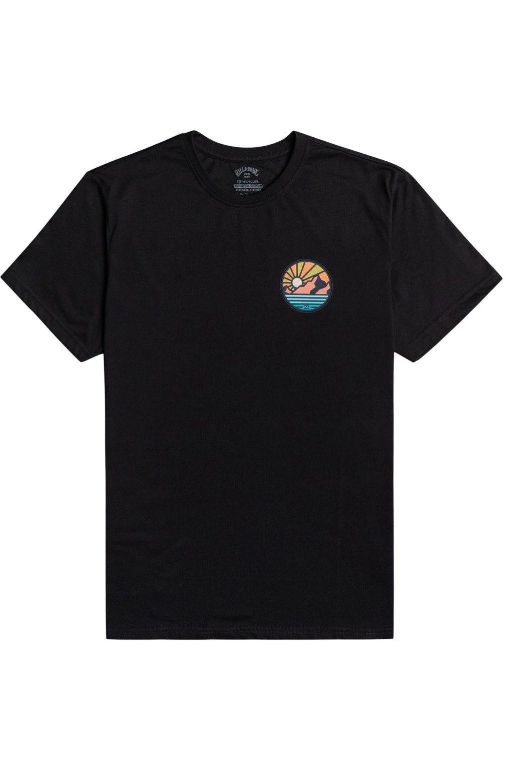 Billabong T-Shirt ROCKIES SS ADVENTURE DIVISION Black