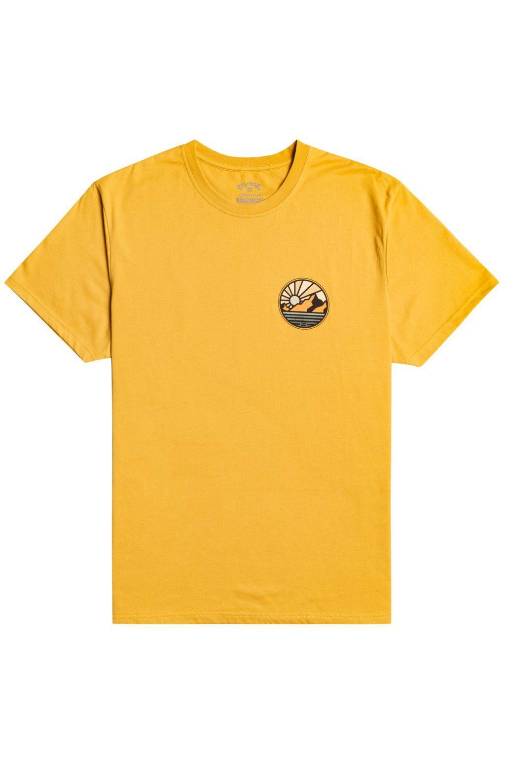 Billabong T-Shirt ROCKIES SS ADVENTURE DIVISION Gold