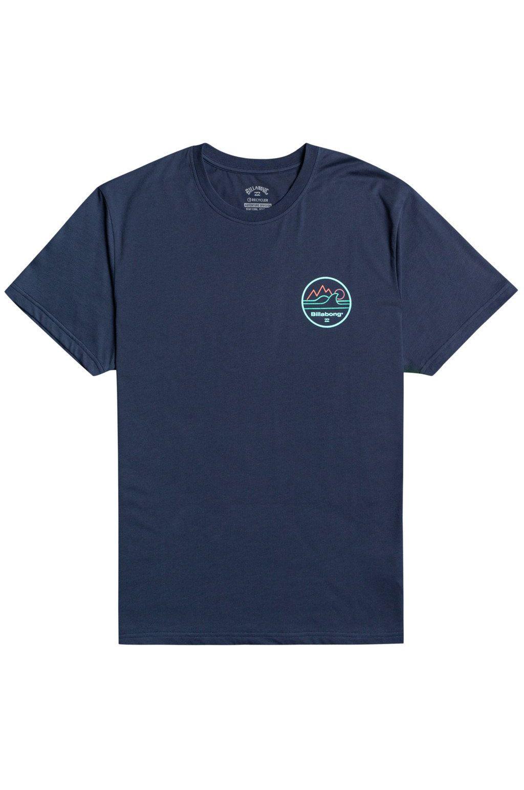 Billabong T-Shirt PEAK WAVE SS ADVENTURE DIVISION Indigo