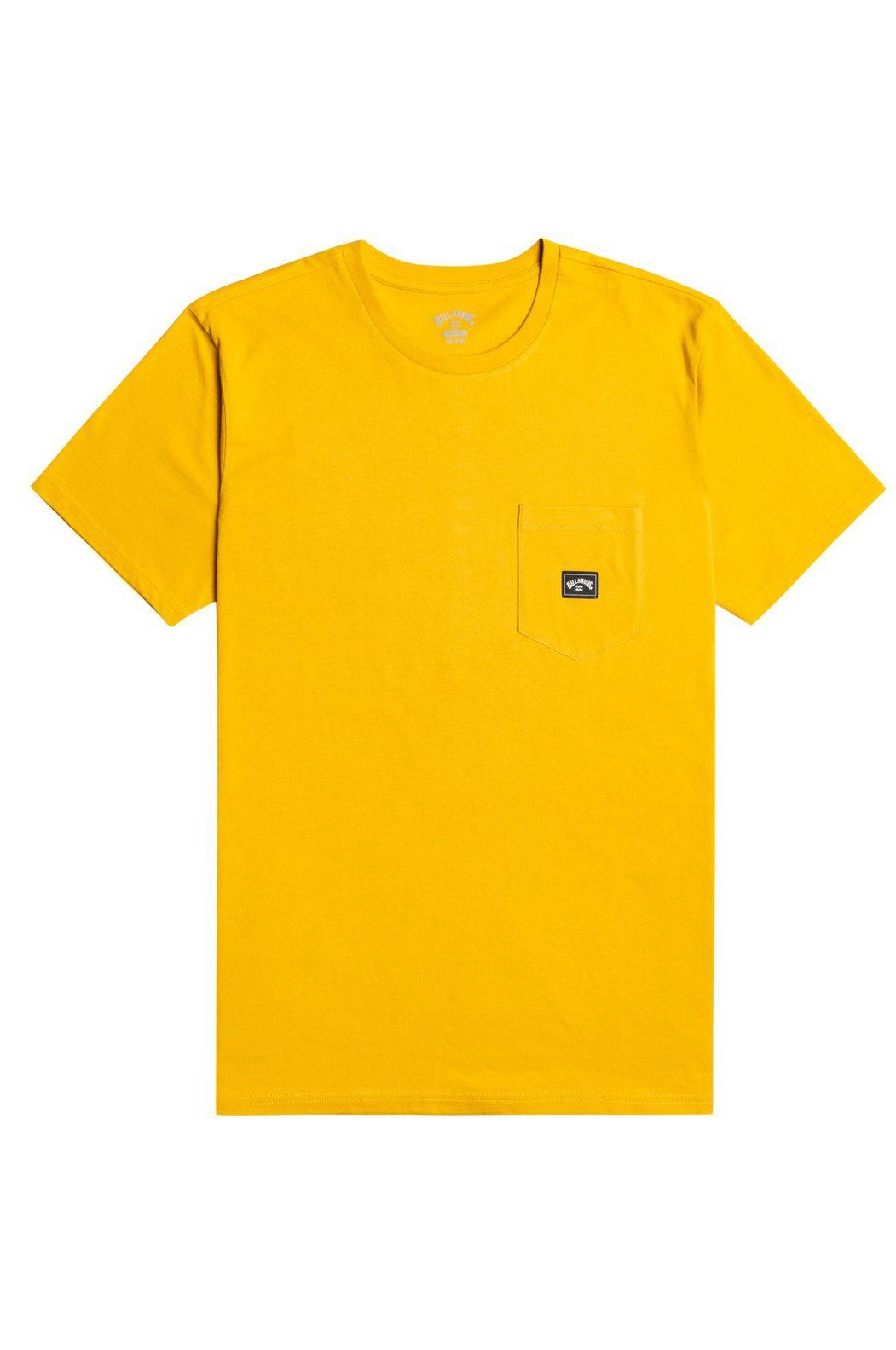 Billabong T-Shirt STACKED SS Mustard