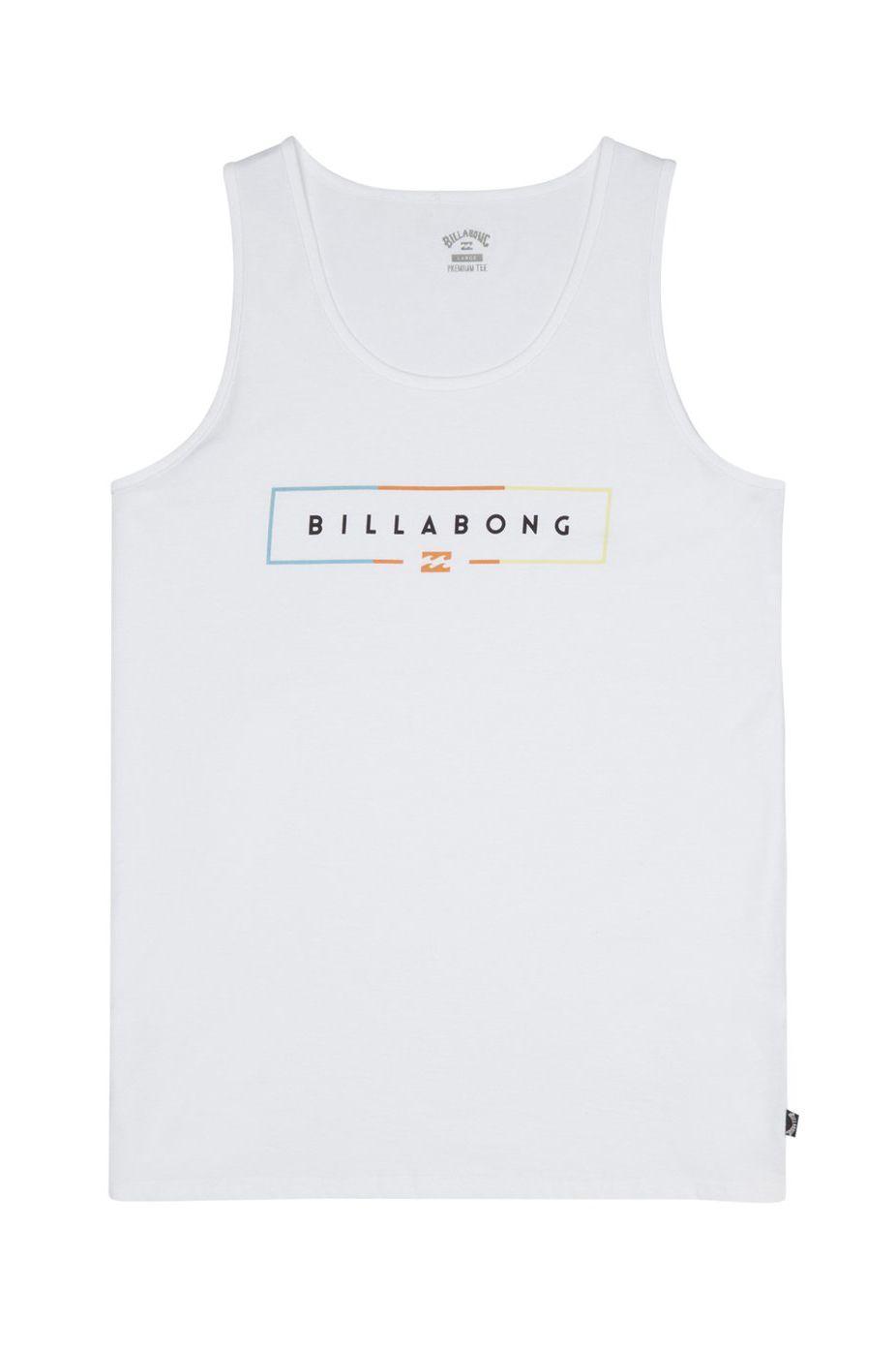 Billabong T-Shirt Tank Top UNITY White