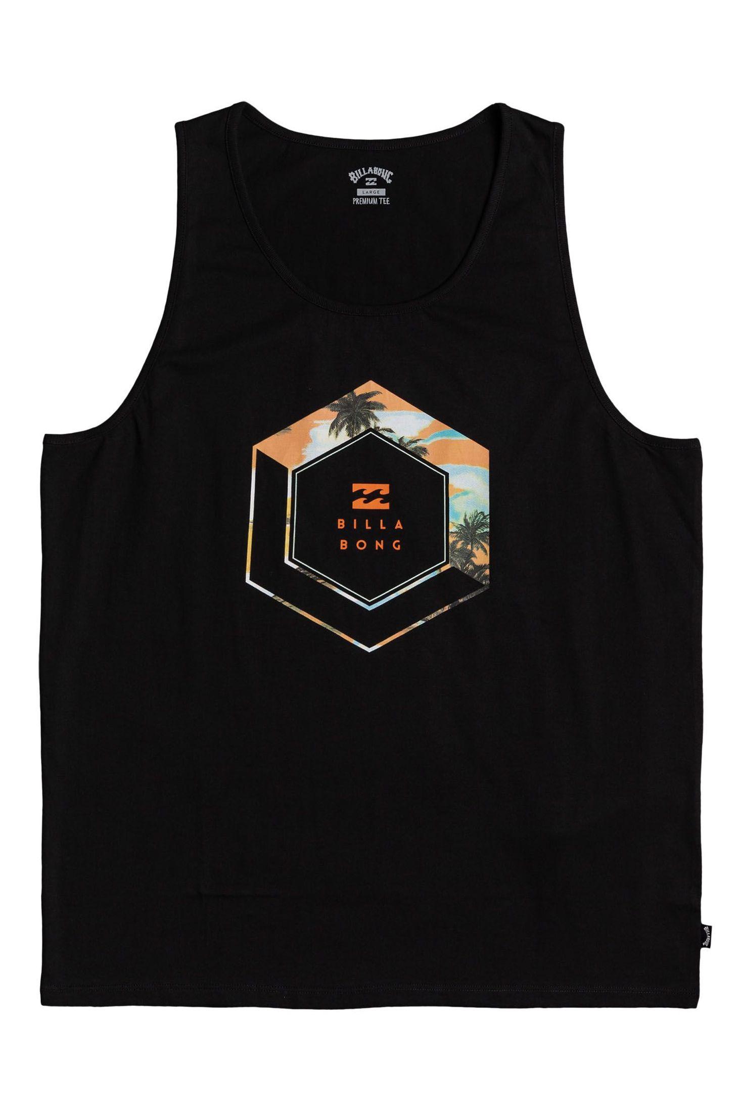 Billabong T-Shirt Tank Top ACCESS TANK Black
