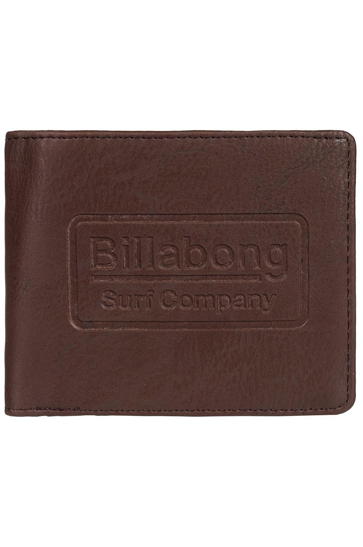 Carteira Billabong WALLED ID Chocolate