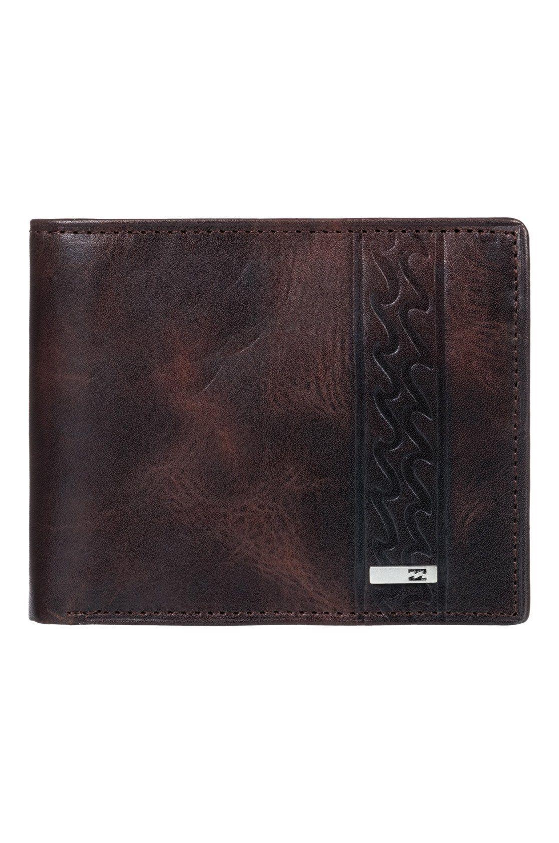 Billabong Leather Wallet DBAH Chocolate
