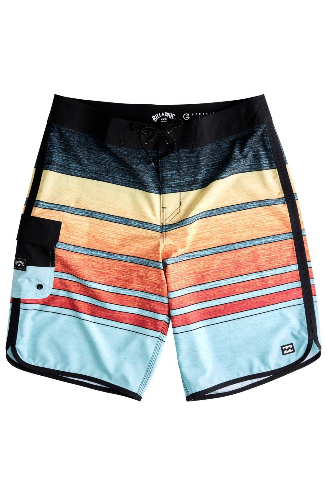Boardshorts Billabong 73 STRIPE PRO BOY Neon