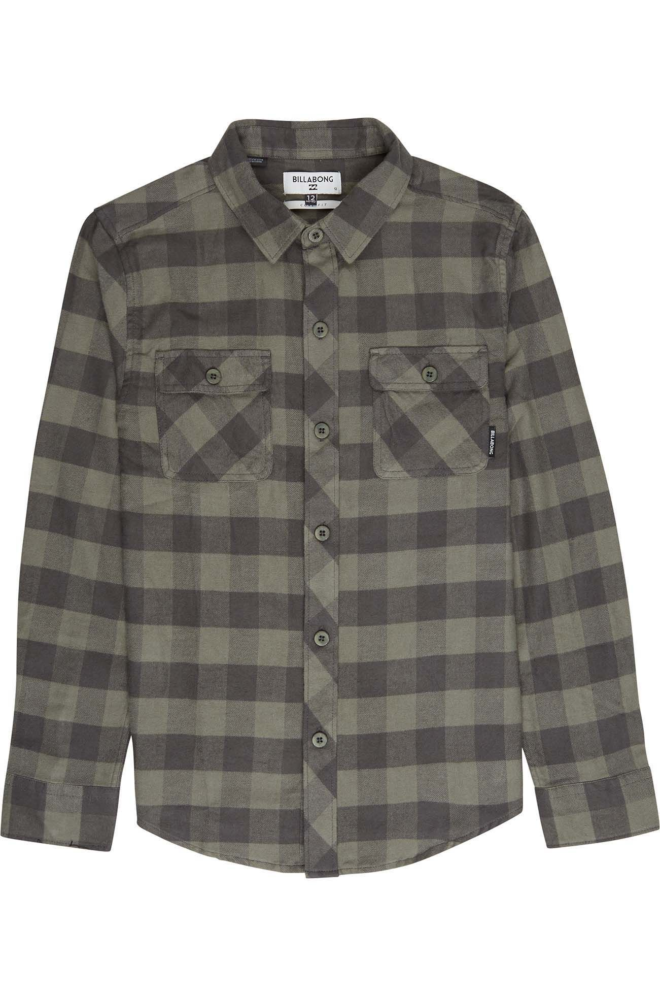 Camisa Billabong ALL DAY FLANNEL Lt Military