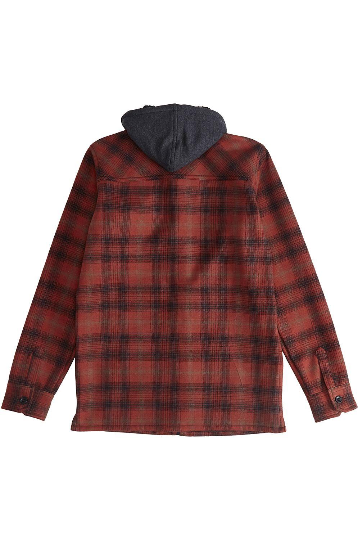Camisa Billabong FURNACE BONDED BOY ADVENTURE DIVISION Red