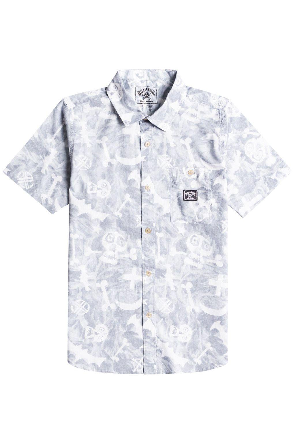 Camisa Billabong BAD BILLY SS SEASONAL COLLECTION Alloy
