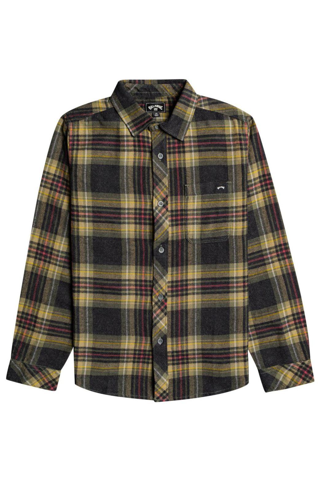 Billabong Shirt COASTLINE FLANNEL BO Black