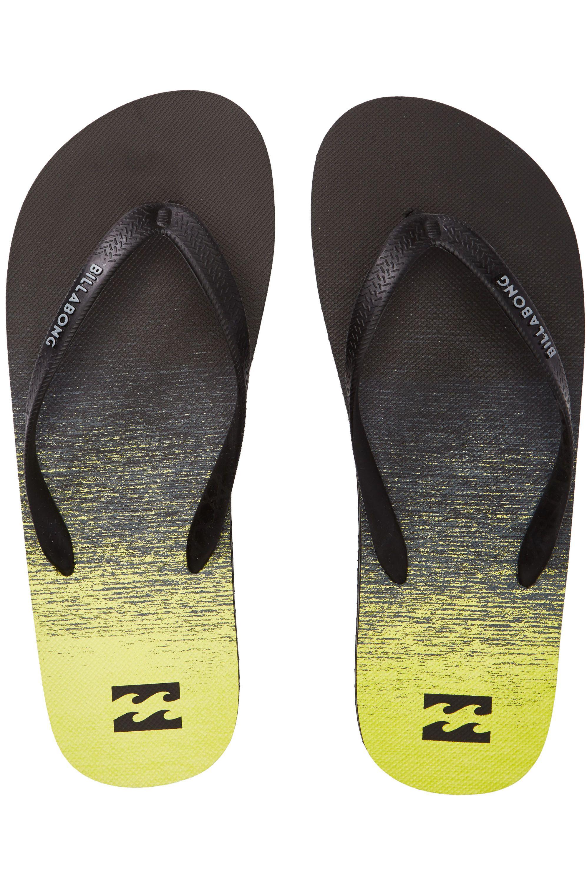 e5fd6d23a62a Billabong Sandals TIDES 73 STRIPES Neo Yellow