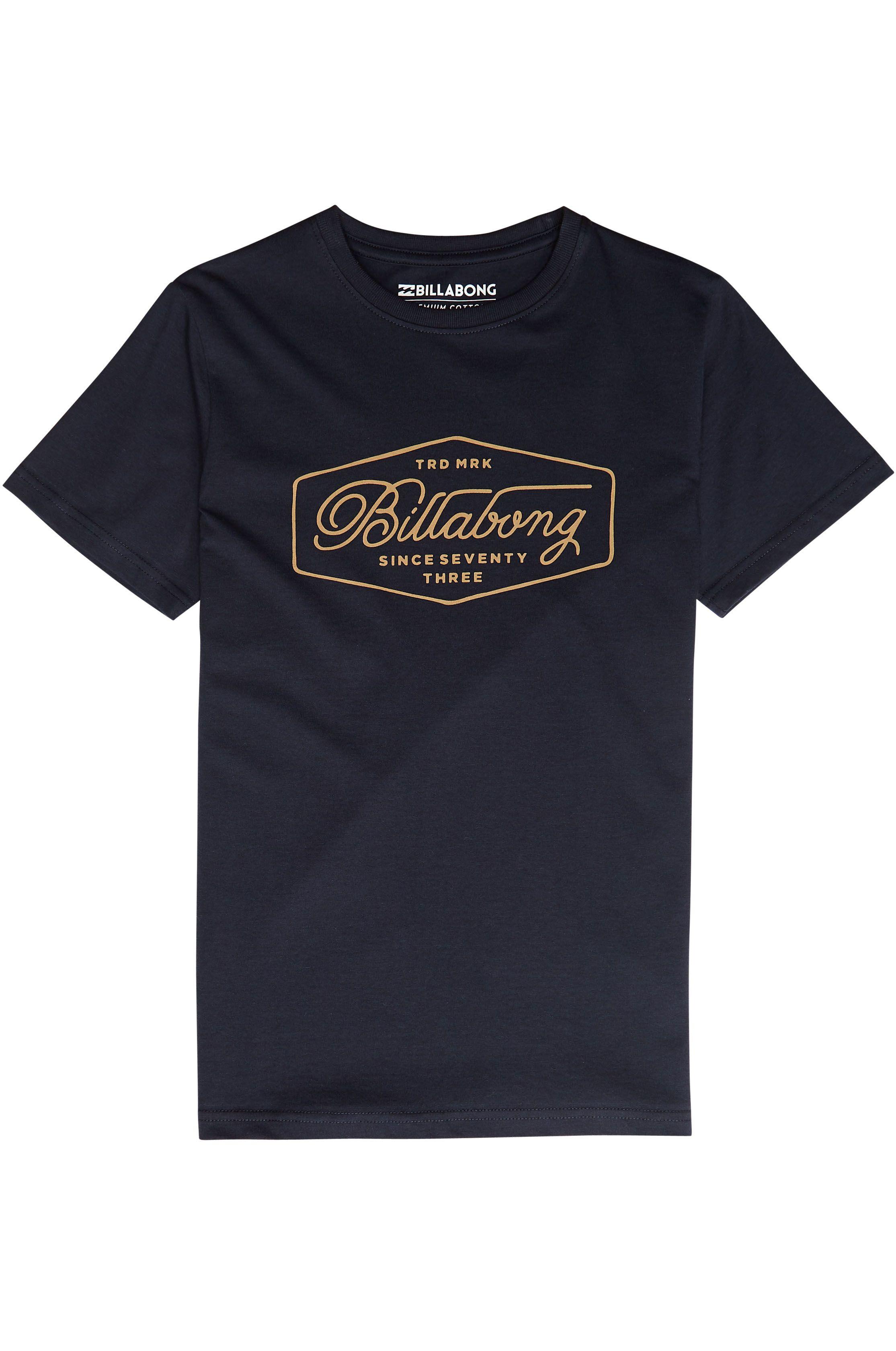 T-Shirt Billabong TRADEMARK Navy