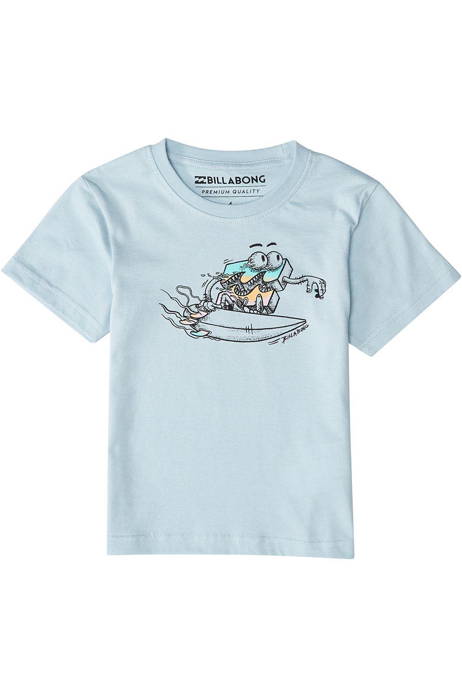 Billabong T-Shirt KILL WAVE Dusty Blue