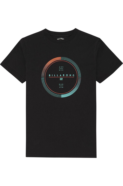 T-Shirt Billabong FULL ROTATOR TEE Black