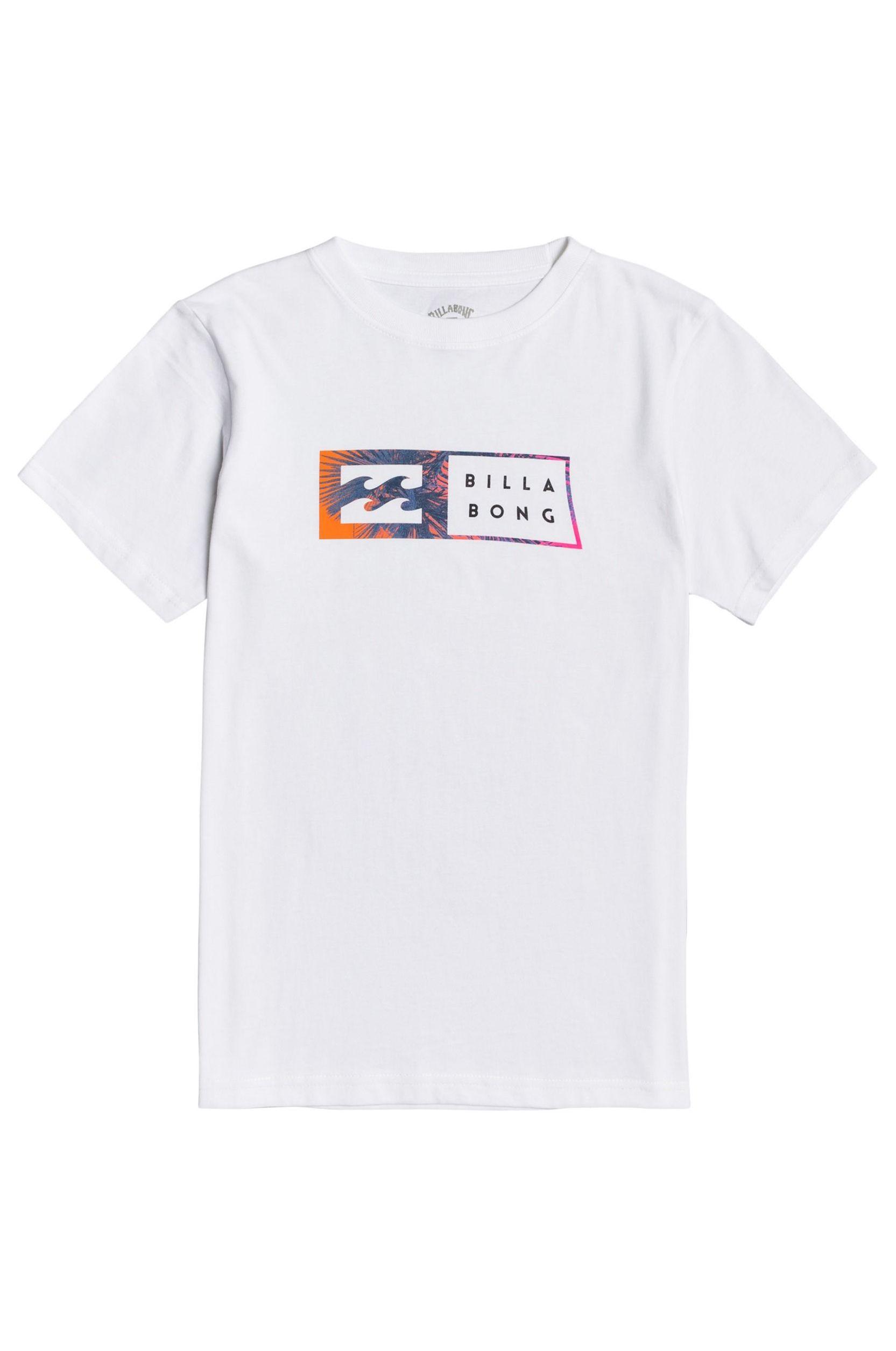 Billabong T-Shirt INVERSED SS BOY White