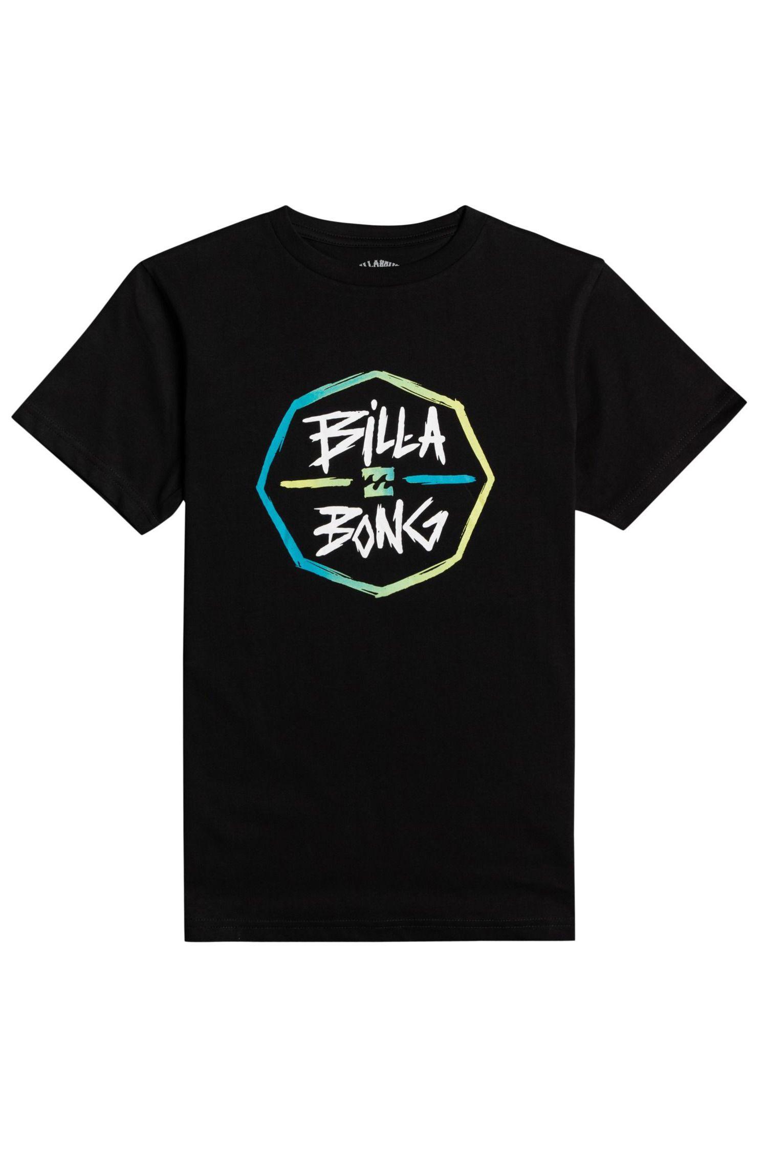 T-Shirt Billabong OCTO SS BOY Black